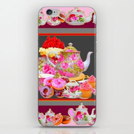 AFTERNOON TEA PARTY  & PASTRY  DESSERTS iPhone Skin