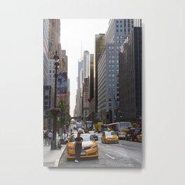 42nd Street, New York Metal Print