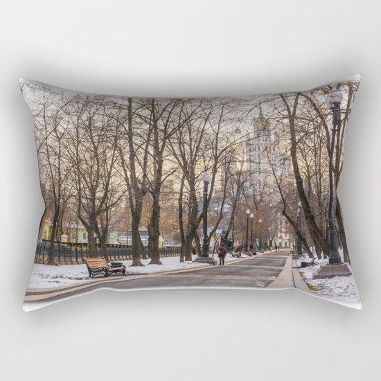 Sadovoye Koltso in Moscow Rectangular Pillow