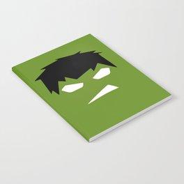 The Hulk Superhero Notebook
