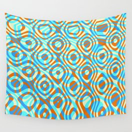 Mixed Polyps Orange - Coral Reef Series 038 Wall Tapestry