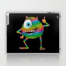 Mike Wazowski fan art by Luna Portnoi Laptop & iPad Skin
