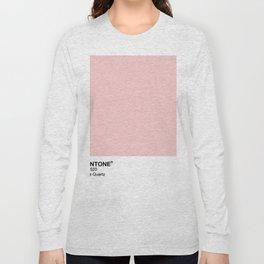 Pantone - Rose Quartz Long Sleeve T-shirt