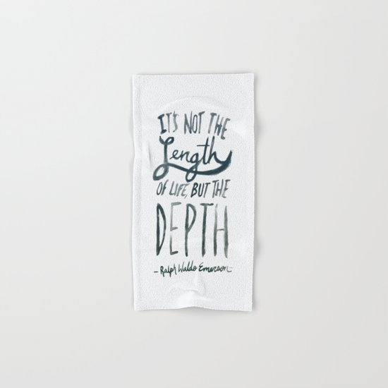 Depth Hand & Bath Towel