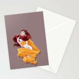 Woman with third eye Stationery Cards