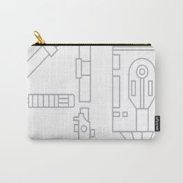 40 Years Of Star Wars Sil Carry-All Pouch