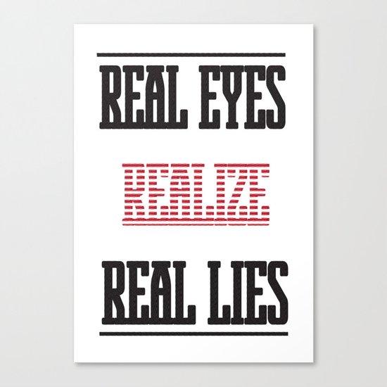 Realize Canvas Print
