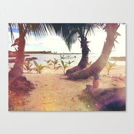 Tropical Wish Canvas Print