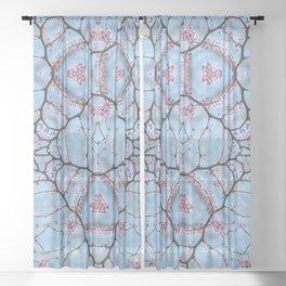 Redbud Possible Perception Sheer Curtain