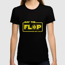 May The Flop Be With You - Funny Poker Pun Gift T-shirt