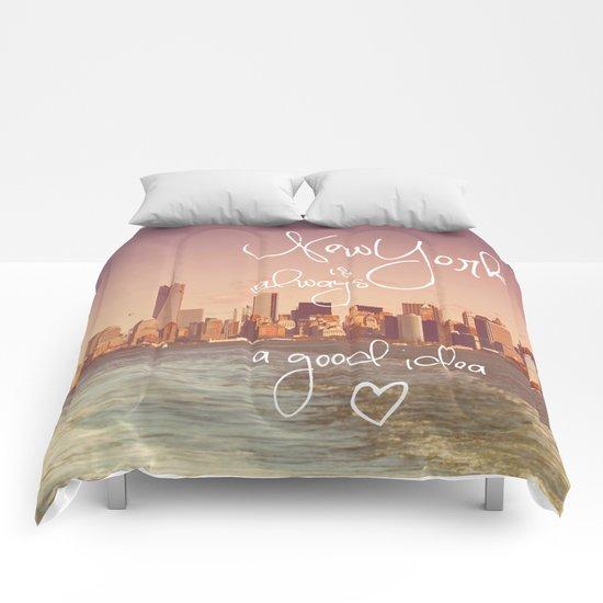 NEW YORK NEW YORK Comforters