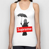 supreme Tank Tops featuring The Supreme by Dandy