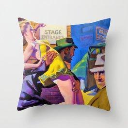 Hugh Joseph Ward - Undercover Man - Digital Remastered Edition Throw Pillow