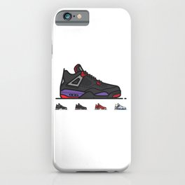 aj4 Hand Painted iPhone Case
