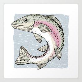 Colorado Cutthroat Trout Art Print