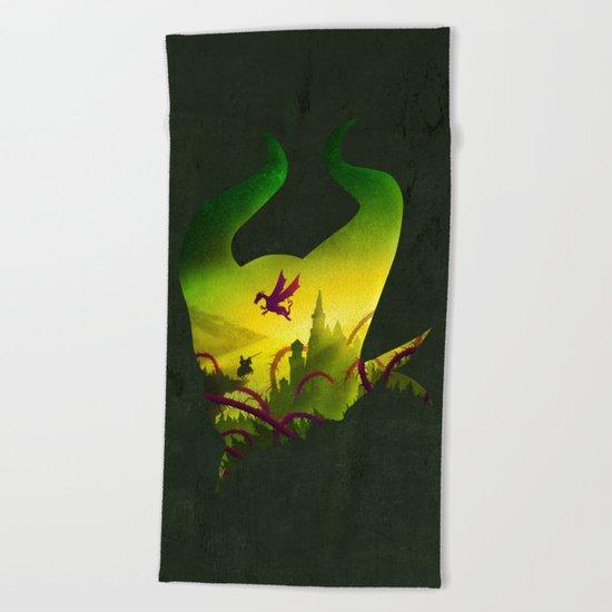 Enchanted Sleep Beach Towel