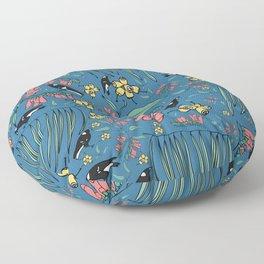 Magpie Muddle Floor Pillow