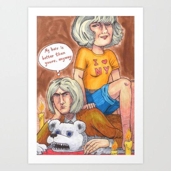 Blondies Art Print