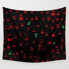 Jack-O-Lanterns 002 Wall Tapestry