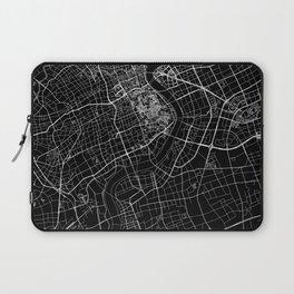 Shanghai Black Map Laptop Sleeve