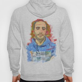 watercolor of the author's colors Hoody