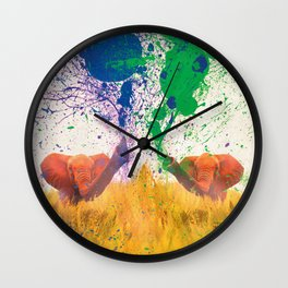 FIGHT FOR PARTY Wall Clock