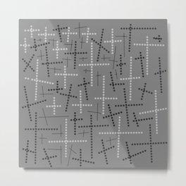 Croisement Grisgris Metal Print
