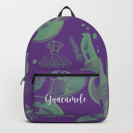 FASHION STYLE PURPLE AND GREEN Backpack