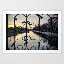 Locks Art Print