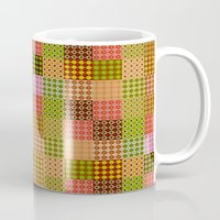 quilt Mugs featuring quilt by Isabella Asratyan