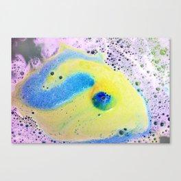 Bubble Dragon Treasure Canvas Print