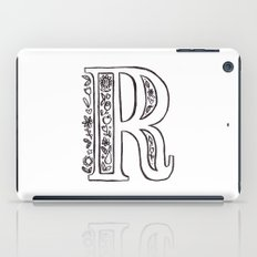 R is for iPad Case