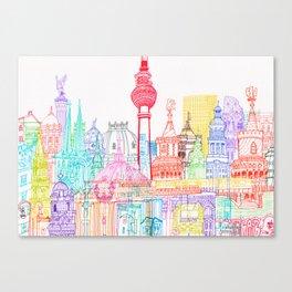 Berlin Towers Canvas Print