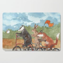 Bike Race Cutting Board