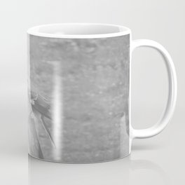 The Bird Light Black and White Coffee Mug