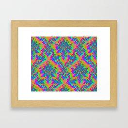 Surrealist Daydream Pattern Framed Art Print