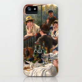Pierre-Auguste Renoir - Luncheon of the Boating Party iPhone Case