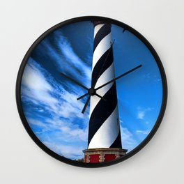 Cape Hatteras Light Wall Clock