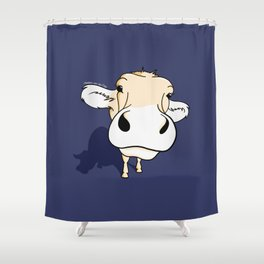 your friend 'Cow' Shower Curtain