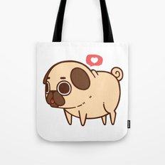 Puglie Heart Tote Bag