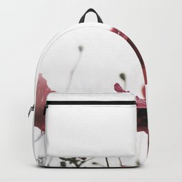 Morning Red Flowers Backpack