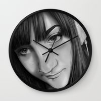 gamer Wall Clocks featuring Gamer by Anais.Lalovi