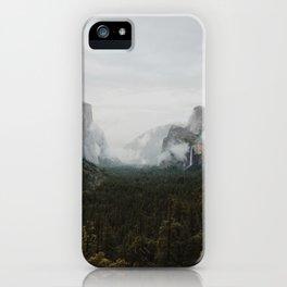 Yosemite Fog iPhone Case