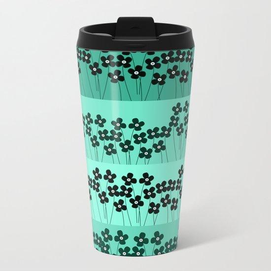 Pattern Y Metal Travel Mug