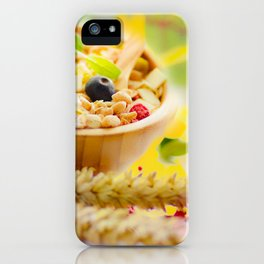 #Food #photography and #spring #colors iPhone Case