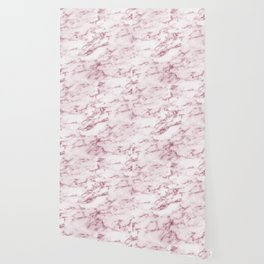 Contento rosa pink marble Wallpaper