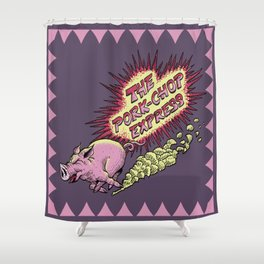 Pork-Chop Express - Big Trouble In Little China Shower Curtain