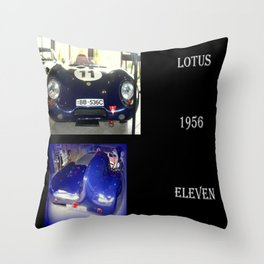 1956 Lotus Eleven  Throw Pillow