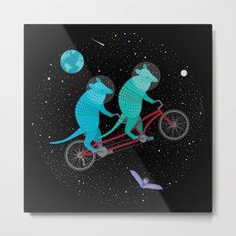 Space Ride Metal Print