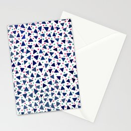 Confetti Triangles Stationery Cards
